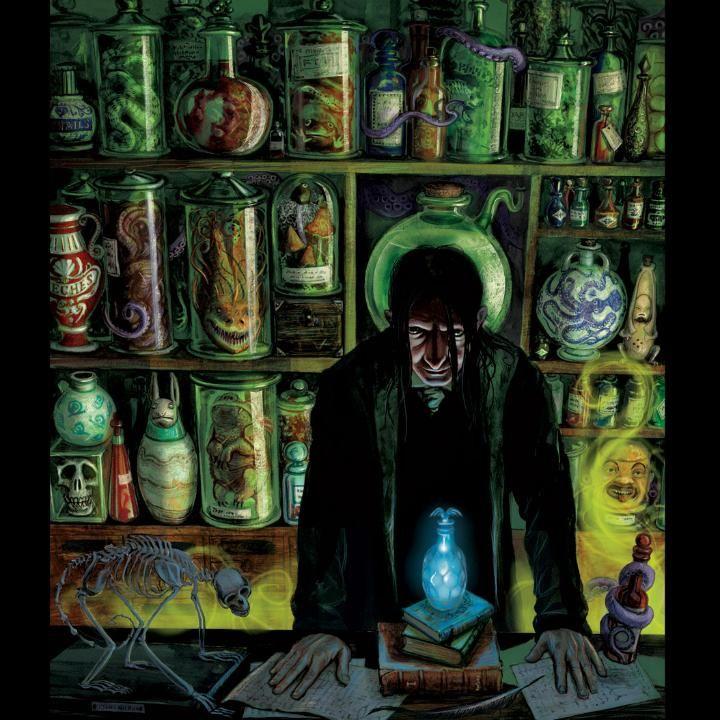Severus Snape Jim Kay Harry Potter illustration