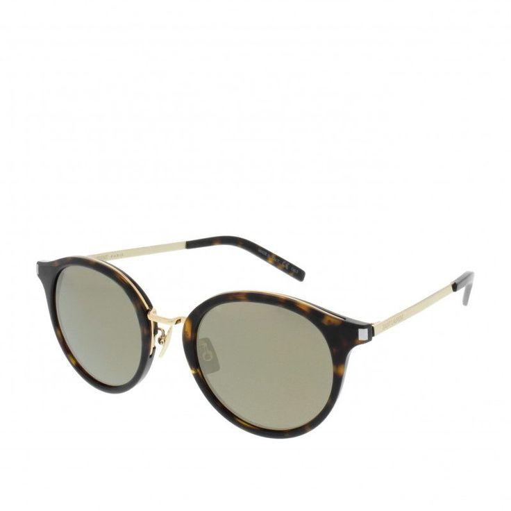 Saint Laurent Saint Laurent Sonnenbrille – Classic Sunglasses Avana/Gold/Bronze SL 57 011 49 – in braun – Sonnenbrille für Damen
