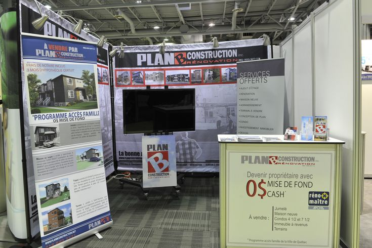 Stand # 411 - Plan B Construction inc Exposants - Salon Expo - tva construction maison neuve