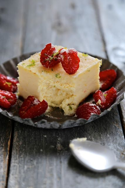 cheesecake parfait aux citrons