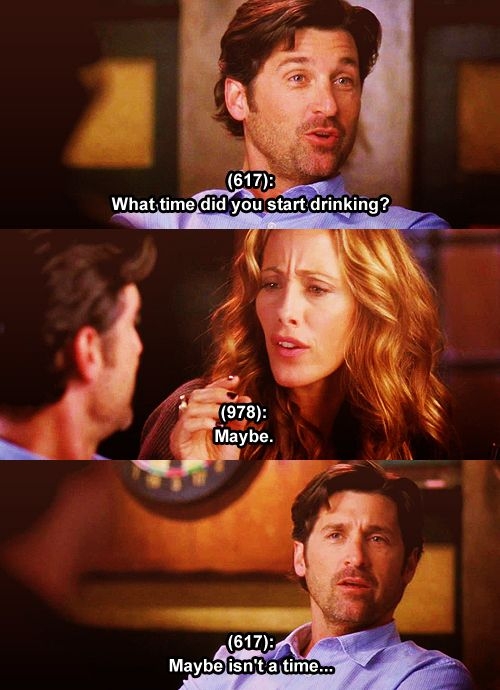this episode is one of my favourites, when they're all had been drunk. Especially bailey and Altman.