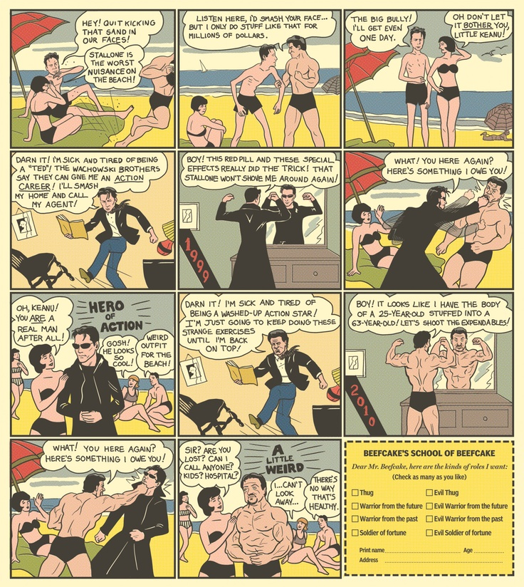 Not exactly Charles Atlas