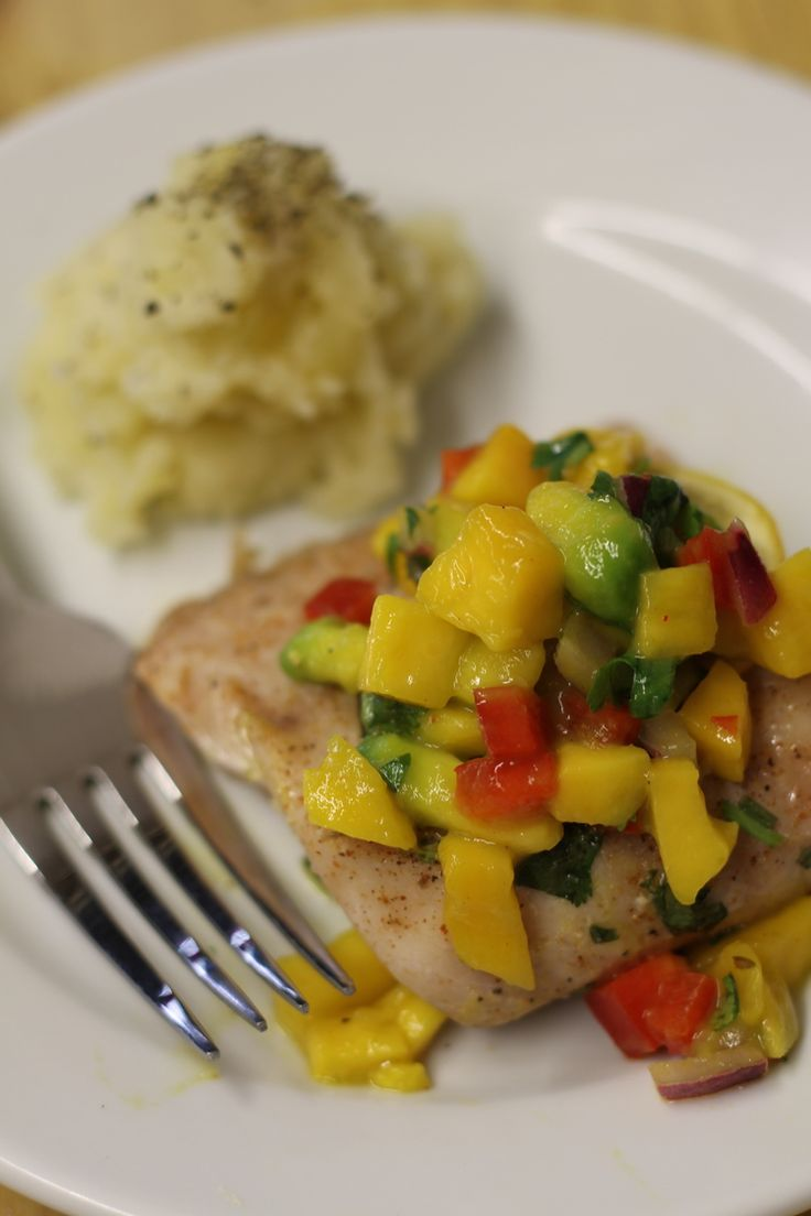 Grilled Snapper & Mahi Mahi w/ Citrus Avocado Salsa - A fresh alternative when grilling out is a must! Luckily our at home cook Julie had this #recipe to share with us.