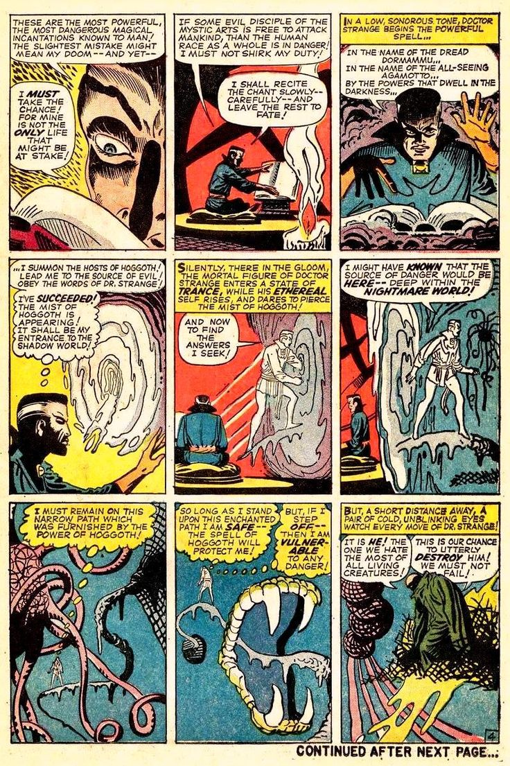 doctor strange comic pages | Panel By Panel: Strange Tales #116 | TheShortBox.com
