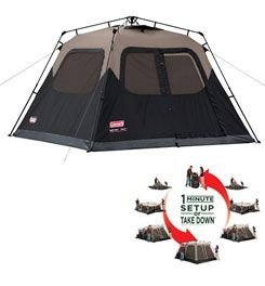 Coleman - Instant Tent 6 - 6 Person Tent, 28814   Family Tents   Tents   GEAR   items from Campmor.