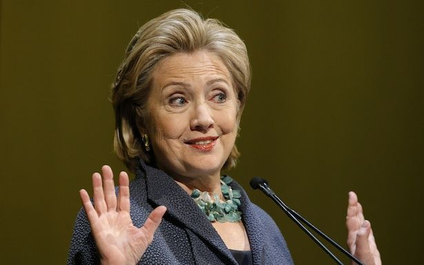 """Hillary Clinton's Gay-Marriage Problem,"" also on theatlantic.com. Interesting... Get it together, Hill-dog."