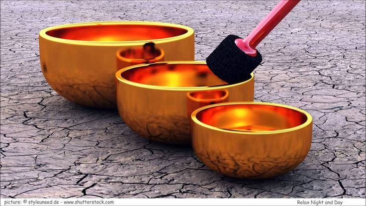 9 HOURS Tibetan Healing Sounds - Singing Bowls - Natural sounds Gold for...
