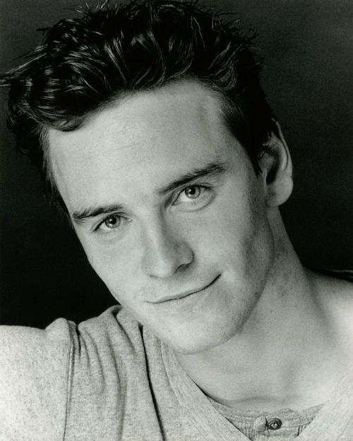 Young Michael Fassbender - so cute and he shares my birthday!