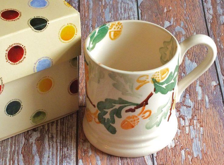 Acorn & Oak Leaves 0.5 Pint Mug (Barnchester Exclusive)