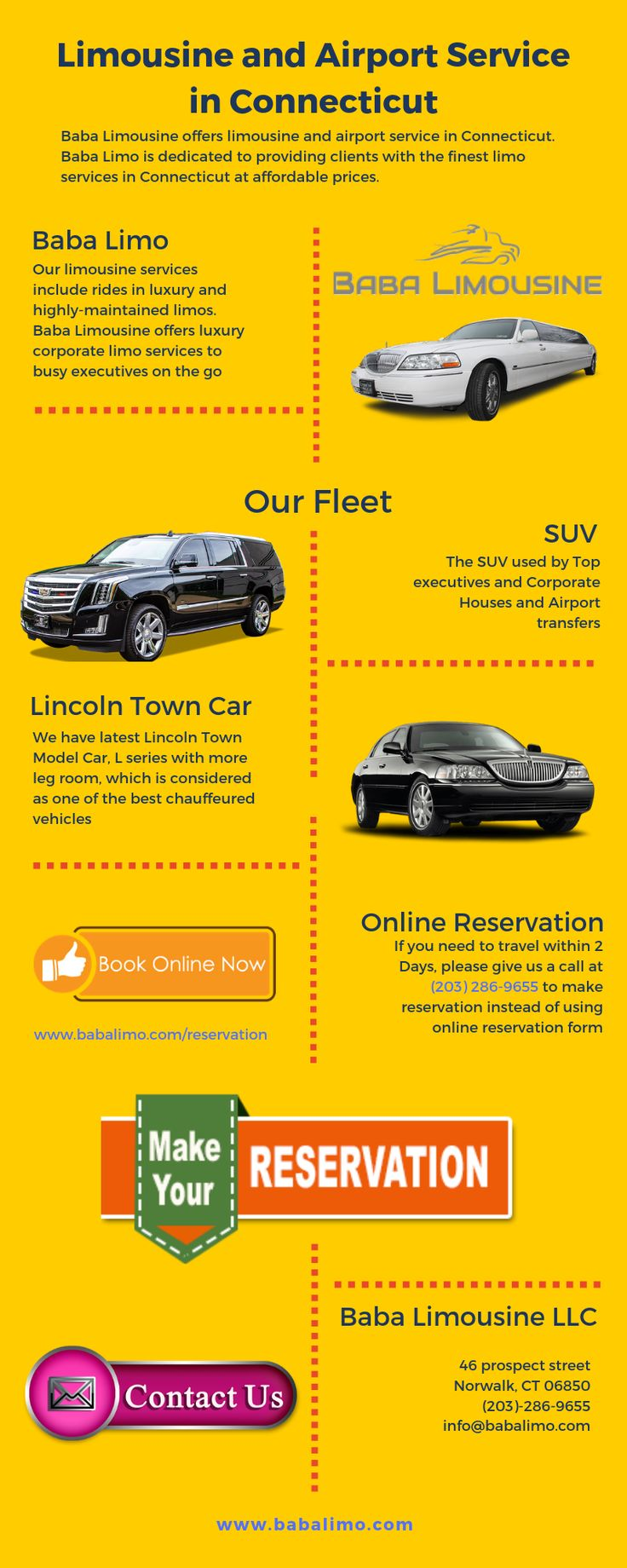 Limousine and Airport Service in Connecticut