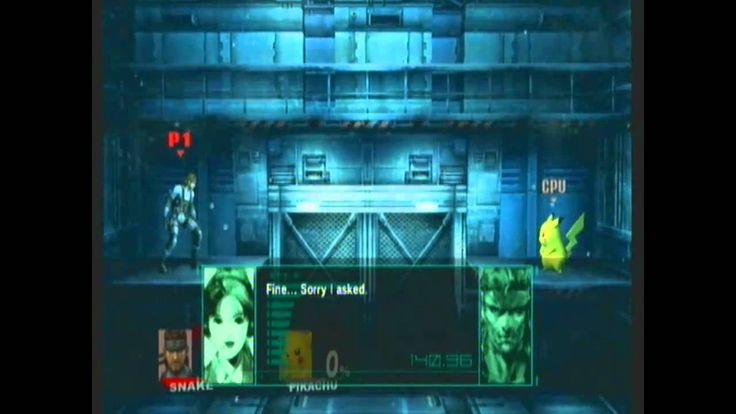 Super Smash Bros Brawl: All Snake's Codec Conversations (2/3)