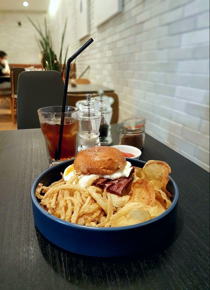 """""""Breakfast Burger"""", Sensory Lab, Jakarta"""