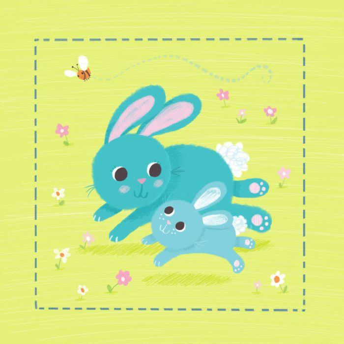 Melanie Mitchell - Bunny Running Melanie Mitchell