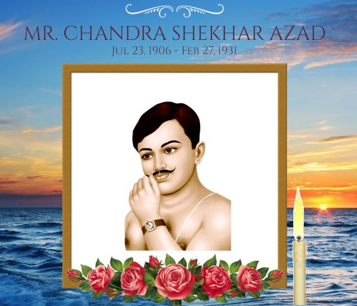 Celebrate 86th Remembrance or Death Anniversary of Chandra Shekhar Azad, India's Most Popular freedom fighter.