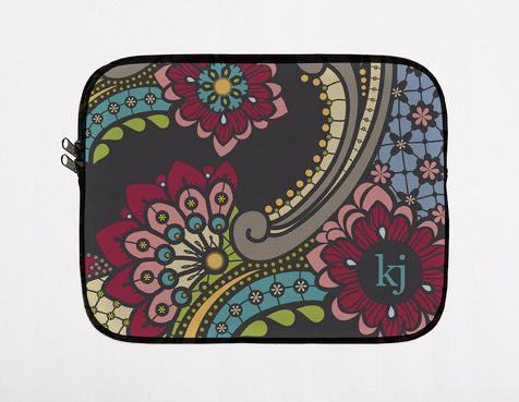 carry-all clutch -paisley