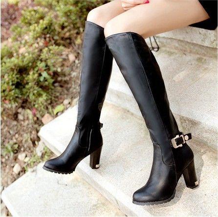 56 Best Ideas About Knee Thigh High Boots On Pinterest
