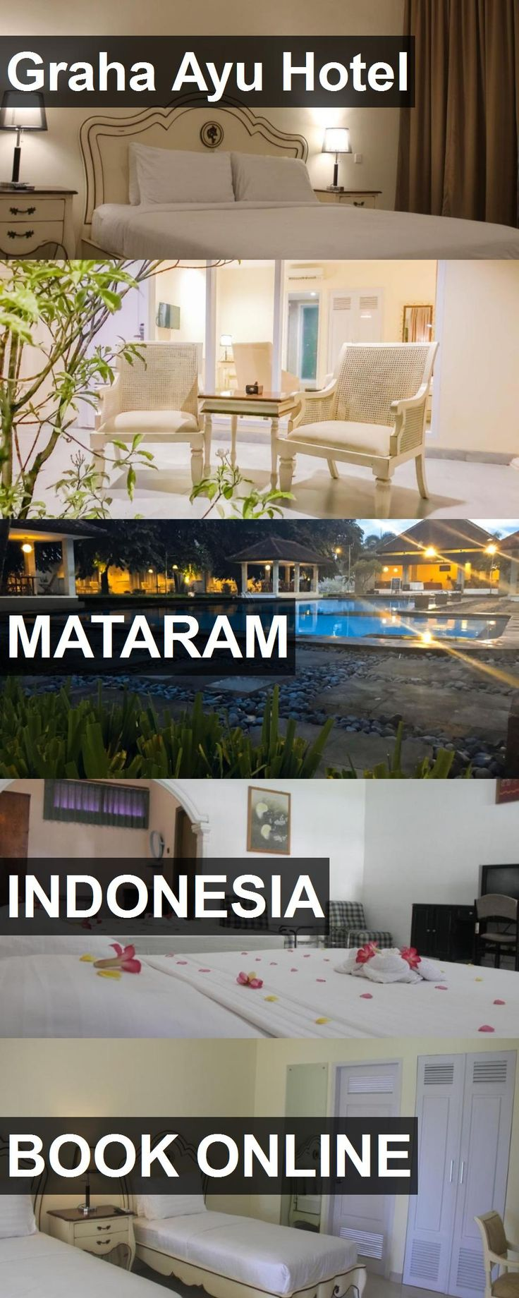 Graha Ayu Hotel in Mataram, Indonesia. For more information, photos, reviews and best prices please follow the link. #Indonesia #Mataram #travel #vacation #hotel