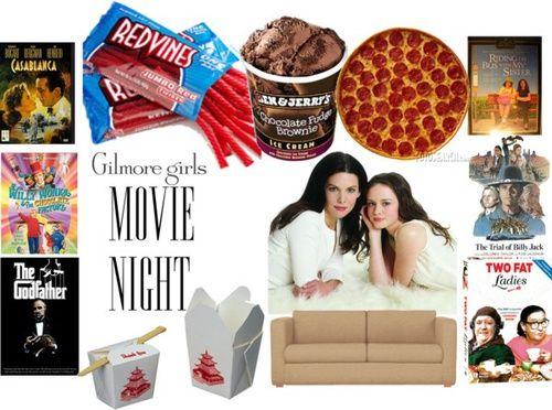 gilmore girls, movie, and guloseimas image