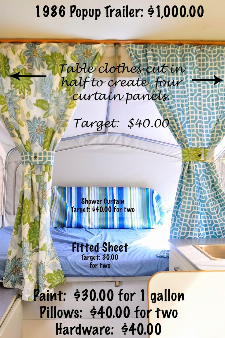 Simply Gourmet: Sifting Through Life: Popup Tent Trailer Makeover and Breakfast Burritos