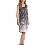 Cynthia Rowley Women's Bleached Paisley Tank Dress