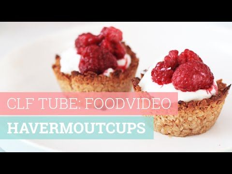 Foodvideo: Havermoutcups | Chickslovefood.com | Bloglovin'