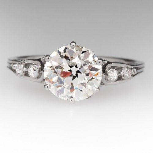 Old Diamond Antique Engagement Rings $17,999
