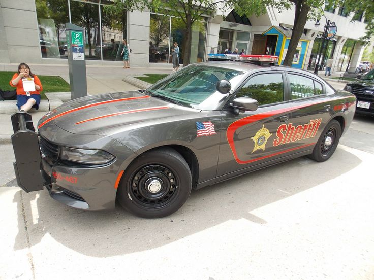 Milwaukee County, Wisconsin Sheriff's Department Dodge Charger.  Milwaukee is the county seat in Milwaukee County.