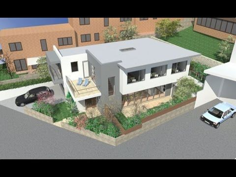 Modern House Design June 2015 . Artlantis Renders