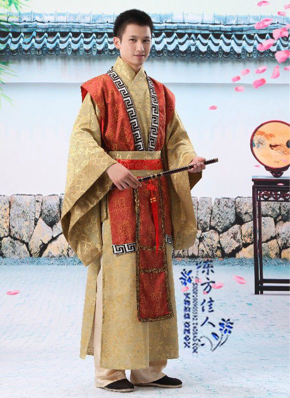 New Chinese 2 Color Man Emperor Prince Custom Show Suit Clothing Robe COSPLAY-in Asia & Pacific Islands Clothing from Apparel & Accessories ...