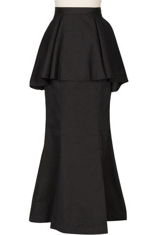 Polished Peplum Skirt layered idea