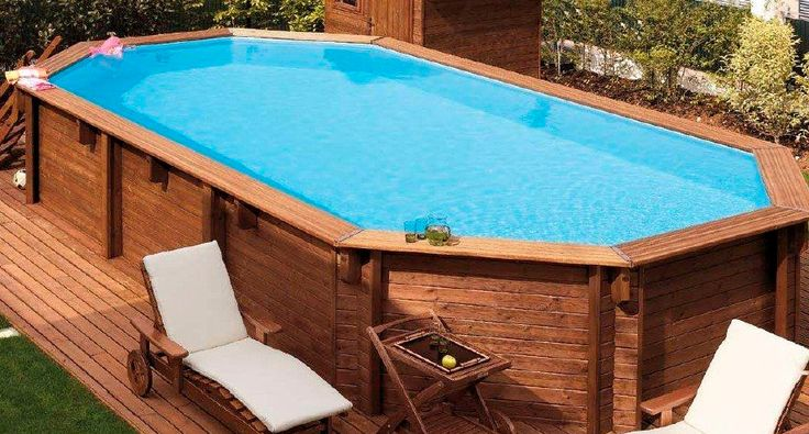 Best 20 oval above ground pools ideas on pinterest - Largest above ground swimming pool ...