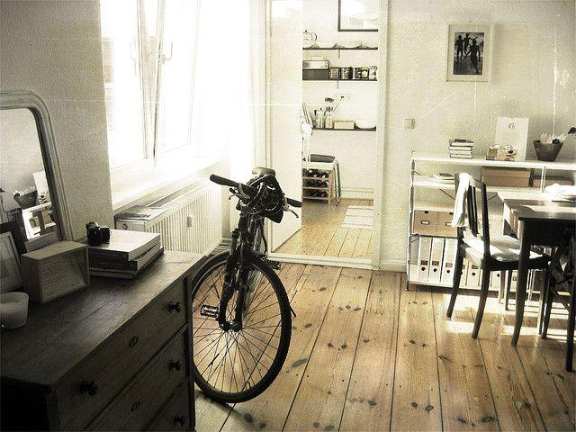 Love the wood flooring