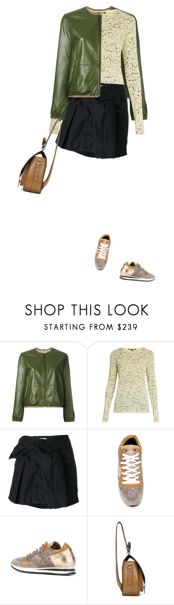 """""""Shirt Skirt By Faith Connexion"""" by carolinez1 ❤ liked on Polyvore featuring BELLEROSE, Proenza Schouler, Faith Connexion, Philippe Model and Maison Margiela"""