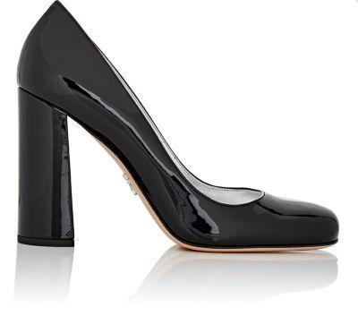 PRADA Patent Leather Pumps. #prada #shoes #pumps