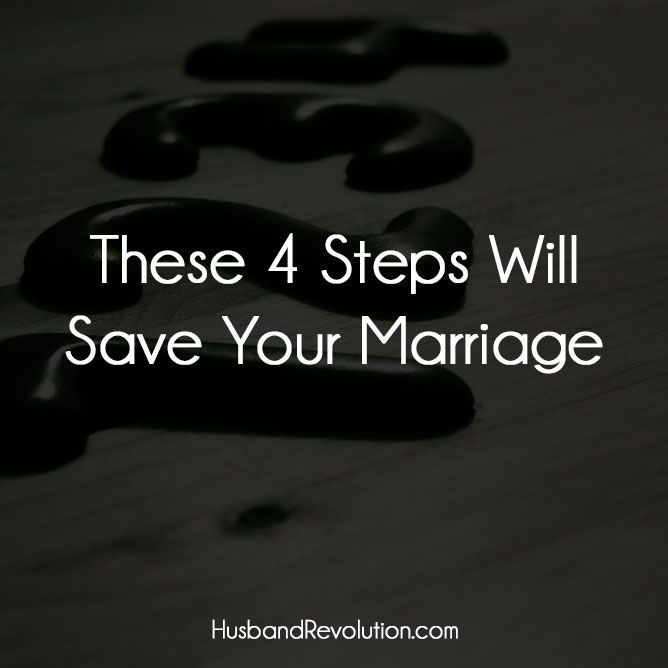 These 4 Steps Will Save Your Marriage --- I was 25 when I got married and it didn't take long to realize that I was in no way prepared for it. The divorce threat was thrown out every time an argument occurred (which was on a daily basis) and I started to have bitterness toward my … Read More Here http://husbandrevolution.com/4-steps-will-save-marriage/ #marriage #love marriage, marriage tips #marriage