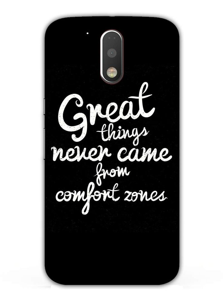 Comfort Zone Gyaan - Designer Mobile Phone Case Cover for Moto G4 Plus