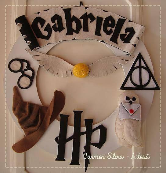 Guirlanda tema Harry Potter