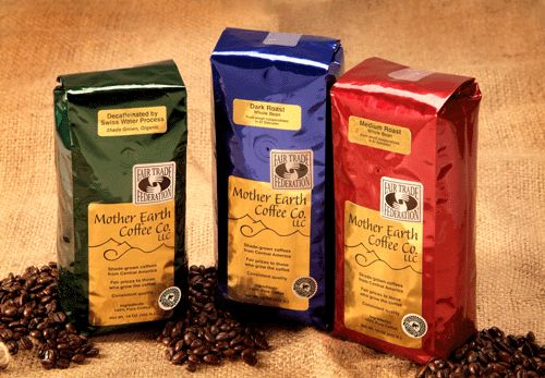 Offer organic of Fair-Trade coffee and/or tea with dessert.