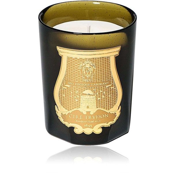 Cire Trudon Prolétaire Travel Candle ($55) ❤ liked on Polyvore featuring home, home decor, candles & candleholders, no color, cire trudon, orange home accessories, inspirational home decor, green home decor and orange home decor