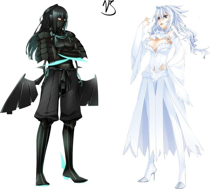 pokemon Zécrome humain et Réchirame humaine