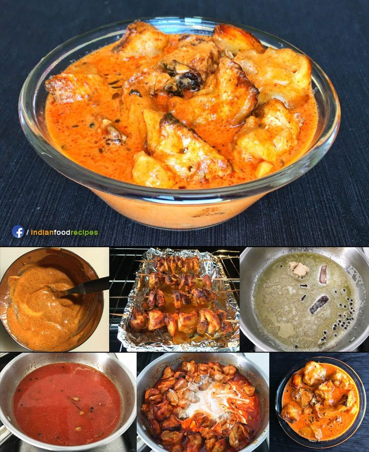 Butter Chicken recipe step by step. Butter chicken or murgh makhani is one of the most popular Indian curries across the world. Soft succulent chicken pieces that are marinated, then cooked in a tandoor or oven and simmered in a creamy mildly spiced tomato gravy – this dish will surely win your heart.