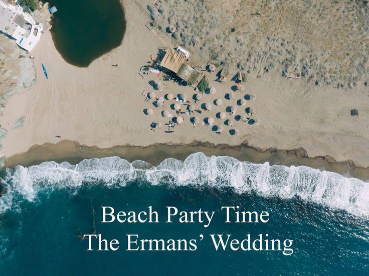 The Ermans' Wedding -Beach Party