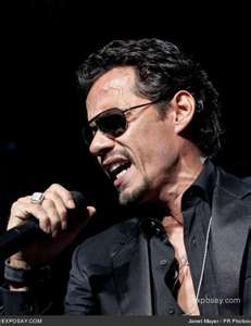 Marc Anthony - Amazing voice, unbelievable stage presence.