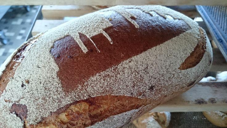 Frankforder Äppelwoi-handkäs Brot auf rooster-cakes.blogspot.de