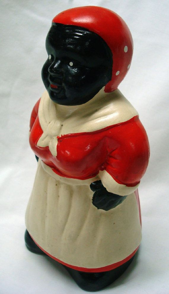 Aunt Jemima Collectibles | Vintage Aunt Jemima Ceramic Piggy Bank Black Americana Collectibles