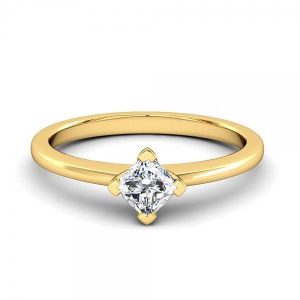 Diesen traumhaften Ring gibt es wahlweise auch in Weißgold, Rosegold und Platin. #love #forever #lucky #diamond #gold #mariage