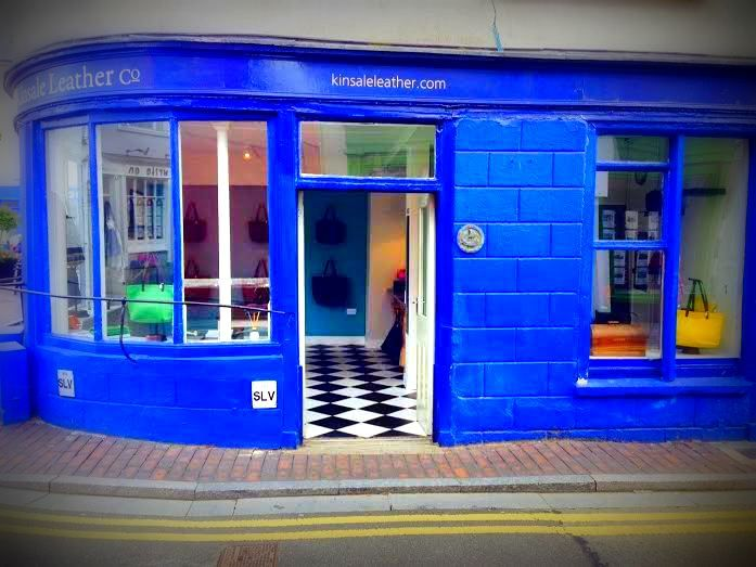 Our  little #Boutique #Shop in #Kinsale #WestCork where you can shop #LimitedEdition #leather #accessories and #design