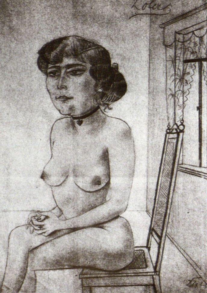Otto Dix, Lola, 1920