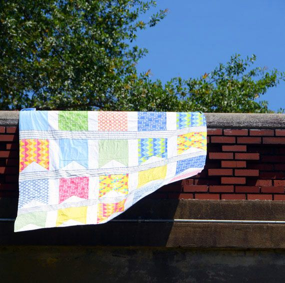 Flag Quilt: Easy Quilt, Patterns For Baby Quilts, Quilt Patterns, Baby Quilts Easy, Baby Blankets Quilted, 100 Tutorials, Beginner S Quilt, Banner Quilt
