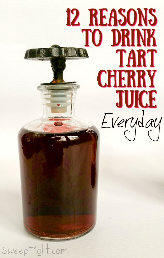 When I heard about how drinking concentrated tart cherry juice benefits the joints, I decided to give it a try. But then learned about all the other perks from drinking this juice.